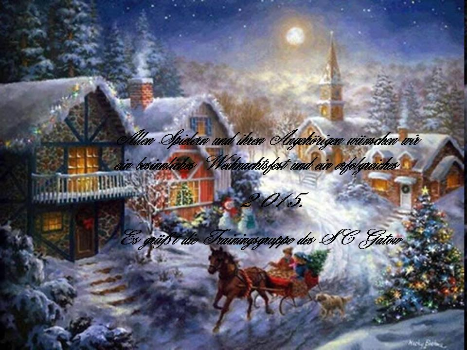 Weihnachtsgruesse  60er