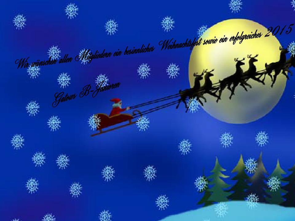 Weihnachtsgruesse B Junioren